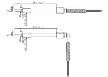 Czujnik temperatury CTPW102