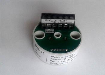 Przetwornik temperatury (pomiarowy) PG-11