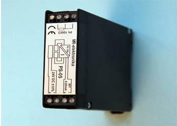 Przetwornik temperatury (pomiarowy) z separacją sygnałów PS-05