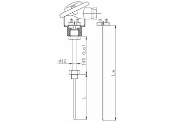Czujnik temperatury TTP551SB