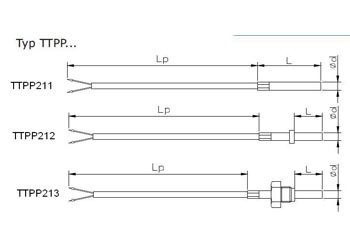 Czujnik temperatury TTPP